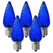 Blue C9 Led Christmas Light Bulbs